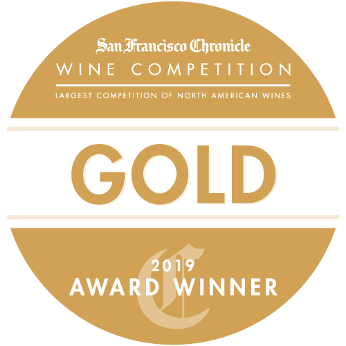 San Francisco Chronicle Wine Competition Gold Award Medal